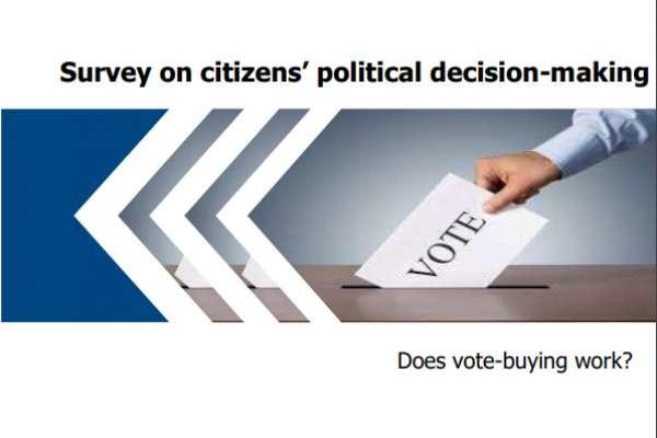 Survey on citizens' political decision-making